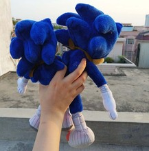 "2016 NEW Sonic the Hedgehog 12″ 14″ Sonic Boom"" Sonic Plush Toy"