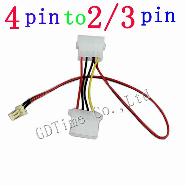 popular pc fan 5v cable buy cheap pc fan 5v cable lots from freight 1pcs 12v 5v computer 4pin male female to 2pin 3pin male pc cpu vga