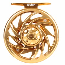 AnglerDream 3/4 5/6 7/8 9/10 WT Large Arbor Fly Fishing Reel T6061 CNC Machined Fly Reel