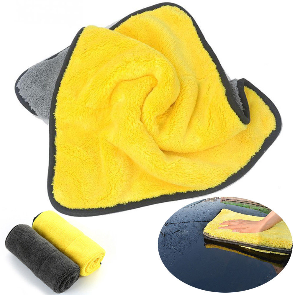 4 Size Super Absorbent Car Wash Cloth Microfiber Towel Cleaning Drying Cloths Rag Detailing Car Towel Car Care Polishing 19
