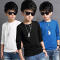 2017 New Fashion Spring Autumn Teenage T-Shirt Boy Kid Children Boys T Shirts Long Sleeve Baby Clothes Tops Tee Shirt JW2107