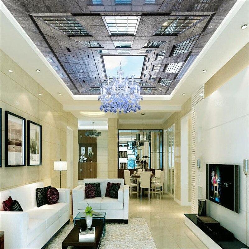 Aliexpress.com : Buy Wall Panel 3d Wallpaper Building Sky