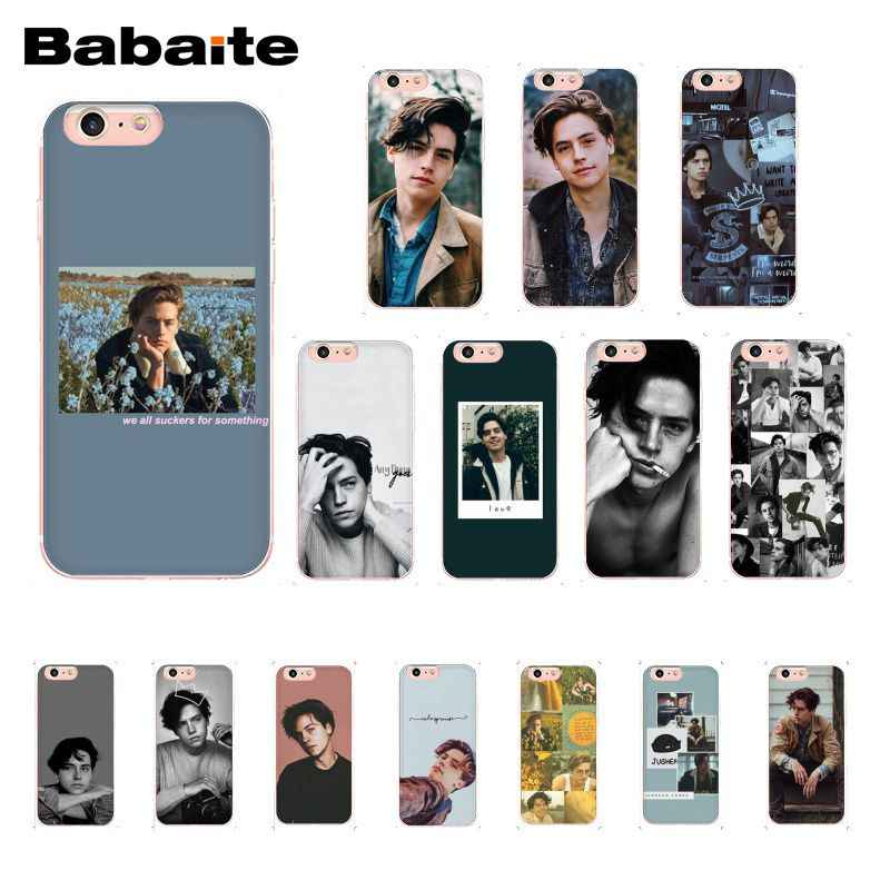 Babaite American TV Riverdale Series Cole Sprouse Phone Case for iphone 11 Pro 11Pro Max 8 7 6 6S Plus 5 5S SE XR X XS MAX