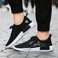 Мужчины обувь обувь zapatos hombre 2016 новая сетка мужские chaussure bmens продаж schoenen случайный человек бренд случайные высокое качество ботинки