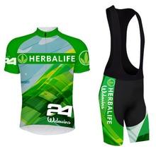 Manga corta camisetas bicicleta Ropa Racing Bike transpirable Ciclismo Ropa Ciclismo HERBALIFE
