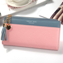 Купить с кэшбэком New Women Wallets Long Multi-card Position Button Bag Hand Zipper Phone Bag  Womens Wallets and Purses  Luxury Wallet Female
