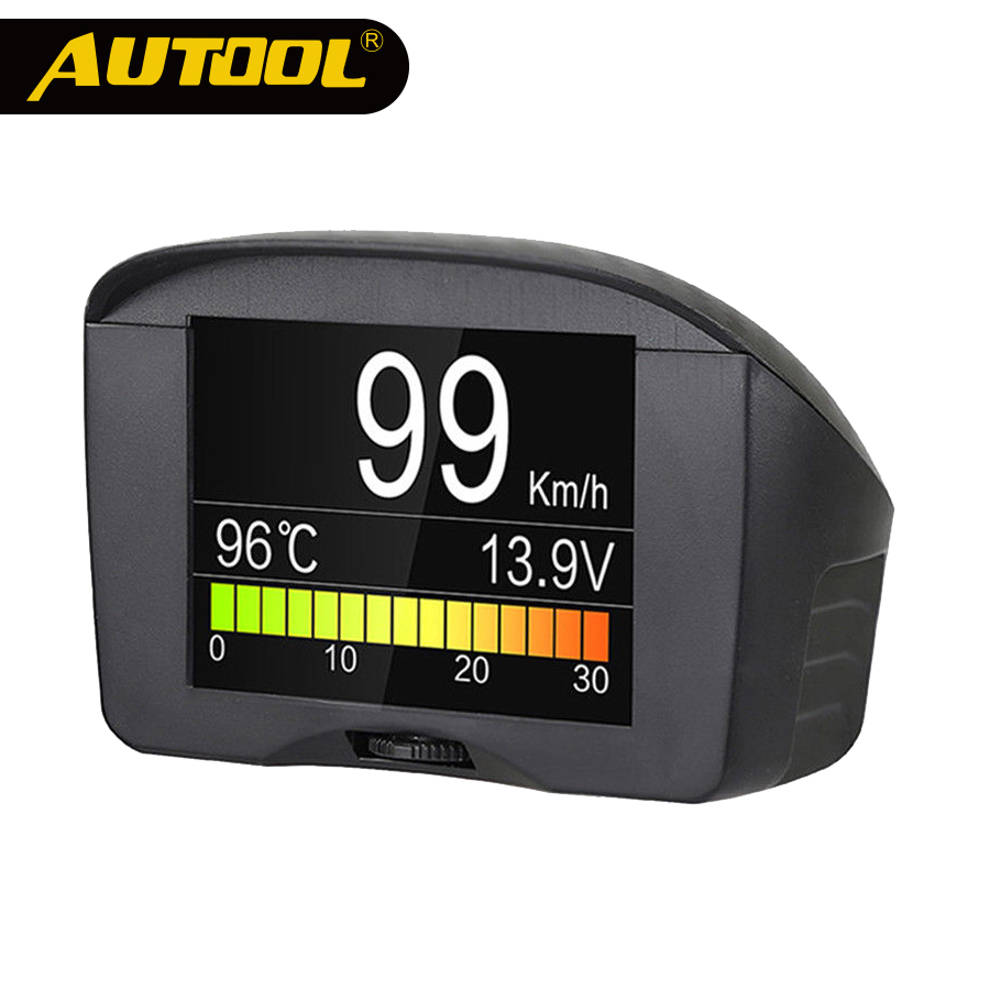 AUTOOL X50 X60 Plus Pro HUD Head Up Display Car Computer Auto Projector Film OBD 2 II Gauge Digital Speedometer Diagnostic Tools