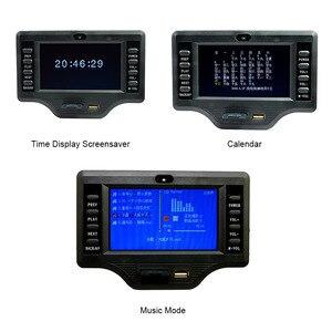 Image 5 - Caisson de basses Bluetooth amplificateur carte 50 W * 2 + 100 W 4.3 pouces LCD Audio Bluetooth récepteur décodeur MP4/MP5 vidéo décodage DC12V