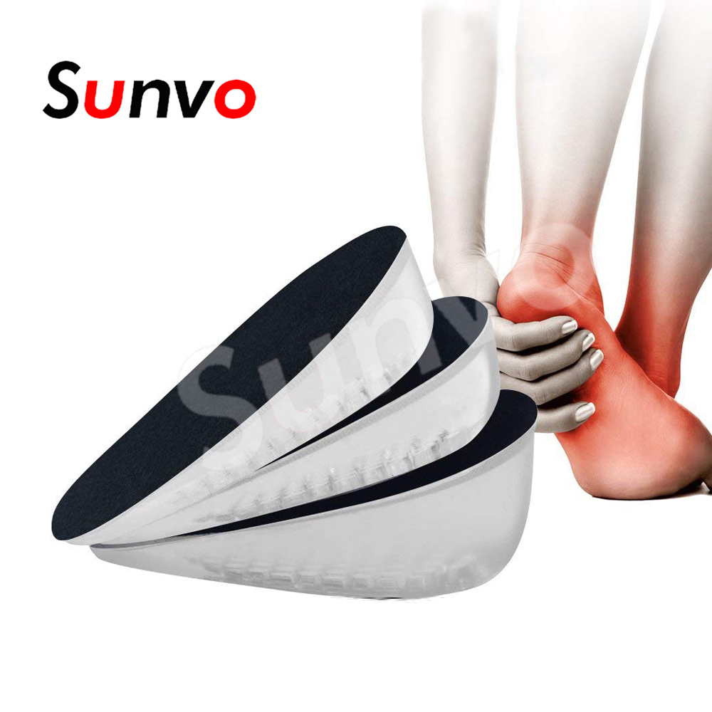 Foot Pain Release Insoles For Shoes Pads elevator Height Increase Shoes Cushion
