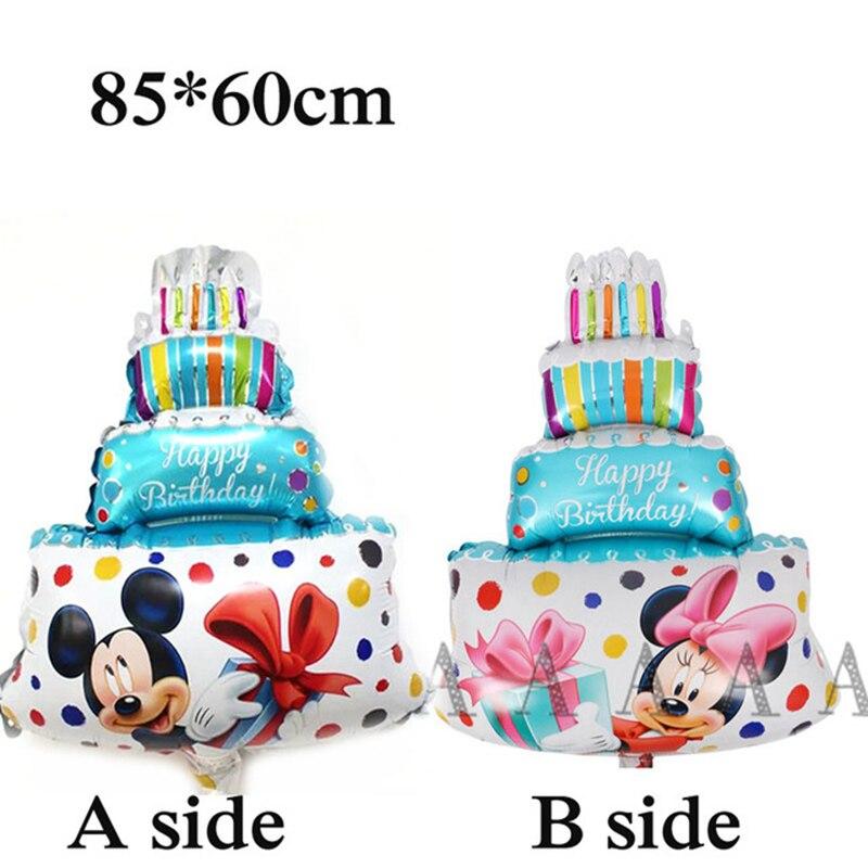 new birthday set balloons princess Snow White cake flower star