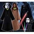 2017 Novo Darth Vader (Anakin Skywalker) de Star Wars Darth Vader Costume Suit Crianças Filme Traje Para Festa de Halloween Cosplay ponchos