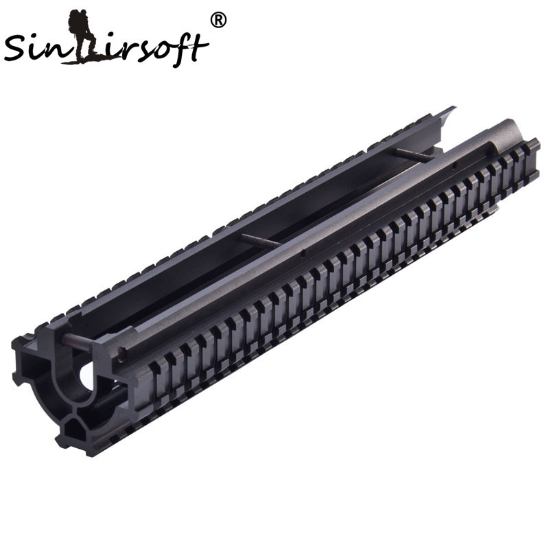 SINAIRSOFT One-Piece Tactical Tri-Rail Handguard Rail Scope Mount System For HK G3, 91, PTR-91  and Compatibles MNT-TG3TR-1
