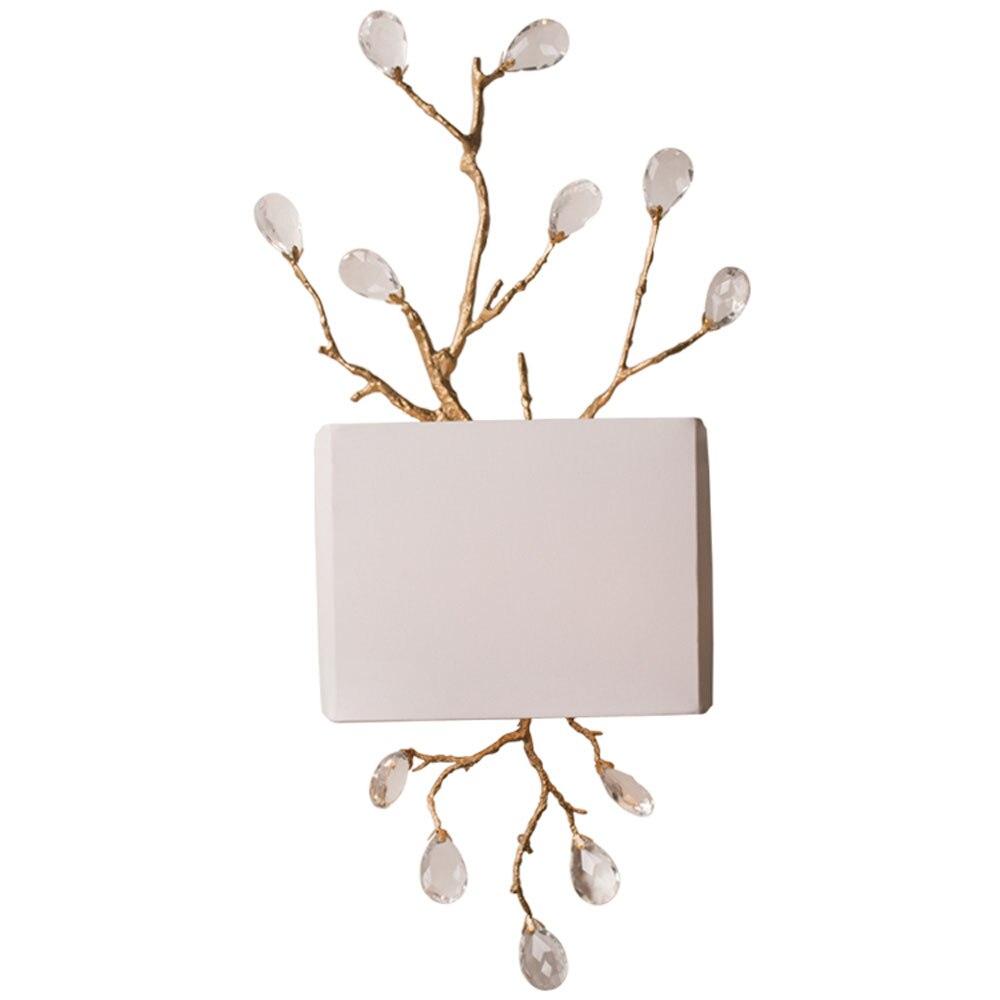 Арт деко дизайн хрустальные бра современные золото wandlampen для гостиной спальня