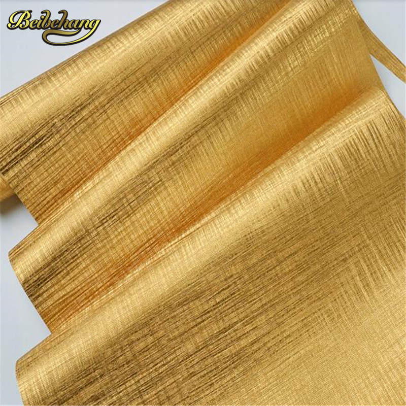 beibehang papel de parede Bar KTV Background wall paper  Gold foil ceiling material wallpaper for walls 3 d  stepper motor snow background wall papel de parede restaurant clubs ktv bar wall paper roll new design texture special style house decoration