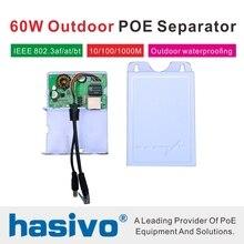 48 ワット 60 ワット Poe セパレーター電源モジュール標準 IEEE802.3 af/で/bt Poe 48 V PoE セパレーター 12 V 4 V 24 V 2A