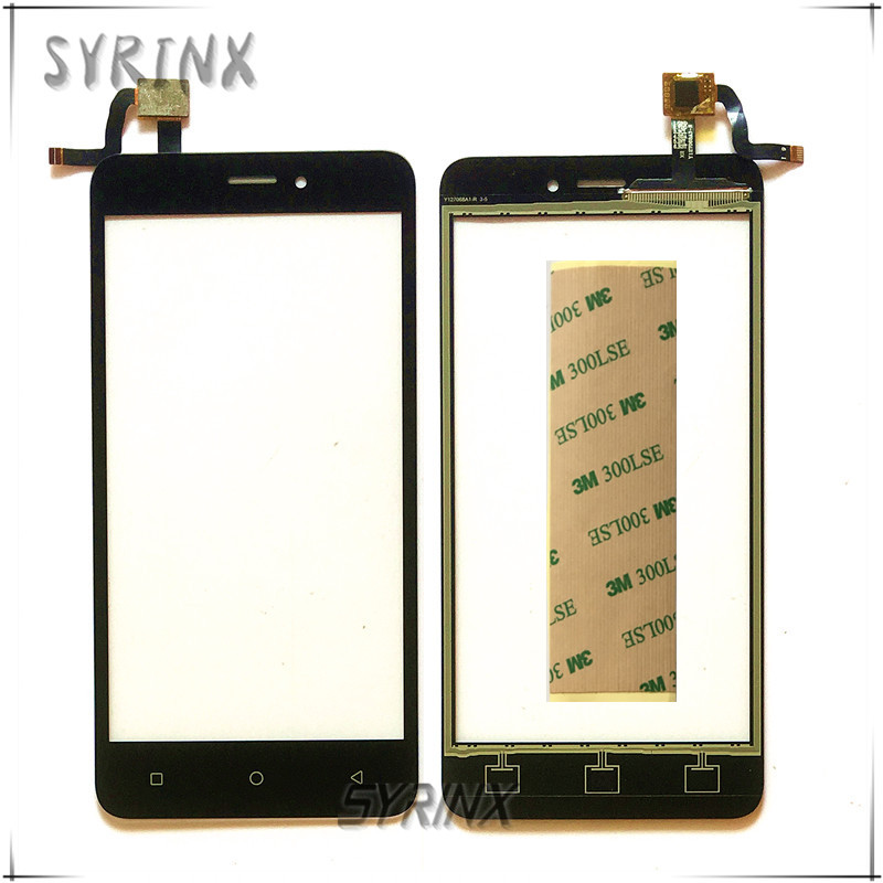 SYRINX With Tape Touch Screen Panel Sensor Touchscreen For Prestigio Wize G3 PSP3510 DUO Touch Screen Digitizer Glass Lens