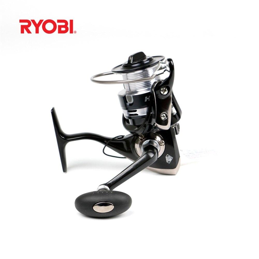 2018 nouveau 100% noir RYOBI HPA haute qualité filature pêche bobine ange rouleau carpes matériel de pêche Carretilha Pesca Mo nouveau ARCTICA