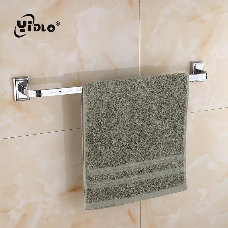 Serviette de salle de bain unipolaire intégré mur salle de bains Washrag étagères de rangement argent salle de bains porte-serviettes outils de toilette offre spéciale