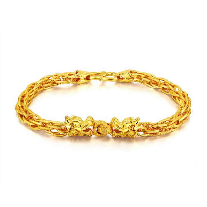 women bracelet solid jewellery s gold photo p on genuine fashion