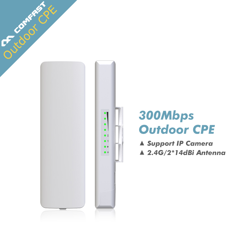 где купить QCA9531 COMFAST Outdoor CPE wireless Router AP 300mbp Wifi Access Point Router Wi Fi Repeater Wifi Amplifier Rj45 point to point по лучшей цене