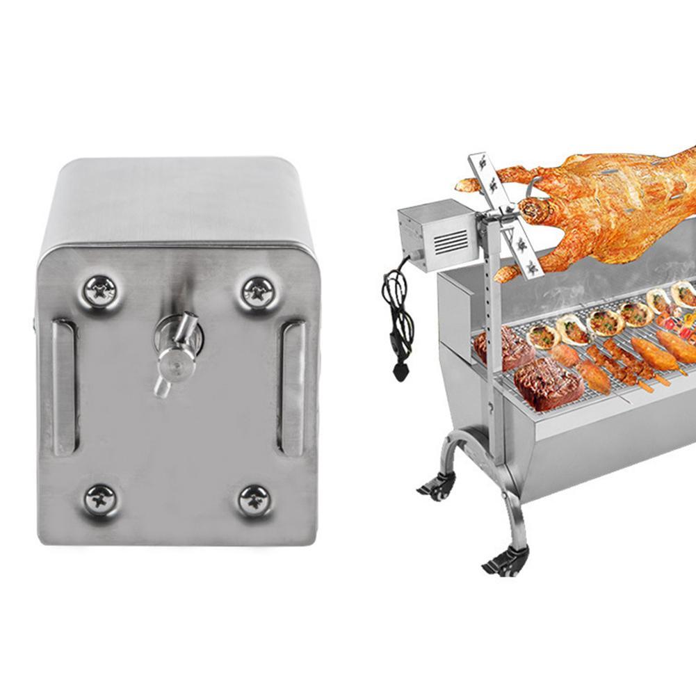 Barbecue In Acciaio Inox Motore Elettrico Accessori Griglia Forno Motore Facile da Lavare E Mantenere Adatto Per Il Picnic di Campeggio