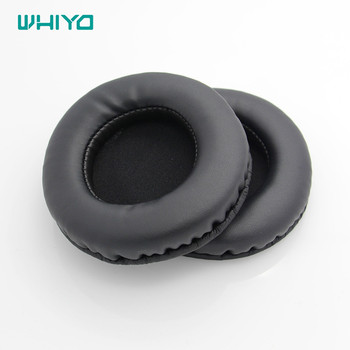 Whiyo 1 Pair of Ear Pads Cushion Cover Earpads Replacement Cups for Panasonic TECHNICS RP-HT161 RP-HT160 Headphones