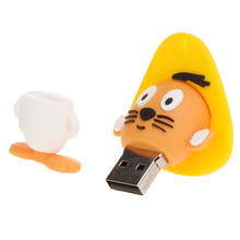 цена на New 2019 usb flash drive 128gb Tom and Jerry pen drive 4gb 8gb 16gb 32gb 64gb pendrive cat and mouse 32gb usb stick Cute gif