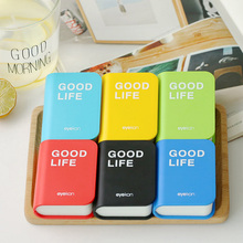 2019 color contact lens case with mirror book shape eye container cute travel kit box