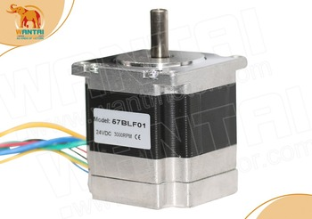 (Promotion)Wantai  57BLF01 Brushless DC Motor 63W,24VDC,3000RPM rated speed CNC