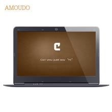 Amoudo 14 дюймов 8 ГБ Ram + 64 ГБ SSD + 500 ГБ HDD Intel Pentium Quad Core Windows 7/10 система 1920X1080 P FHD Ноутбук ноутбука