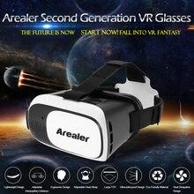 6a5edcc22 (سفينة من US) Arealer VRroam كرتون VR الواقع الافتراضي VR نظارات نظارات  سماعات VR الفيلم لعبة ل 3.5 إلى 6.0 الروبوت iOS الهواتف الذكية