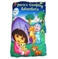 Candice guo! Novos chegada acampamento aventura de Dora Dora de pelúcia travesseiro livro história para dormir bebê 1 pc
