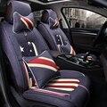 3D чехол для автомобильного сиденья общая Подушка льняная Автомобильная Стайлинг для LEXUS RX  ES  CT  GX и т. д.
