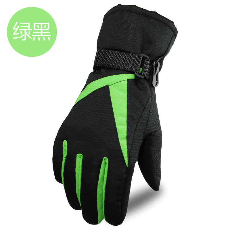 Brand Ski Gloves Women Warm Waterproof Skiing Snowboard Gloves Outdoor Riding Bicycle Guantes Ski Winter Snow Gloves HXST12
