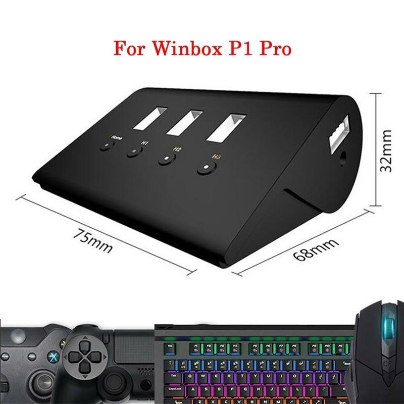 P1 Pro clavier souris convertisseur adaptateur Hub pour Win-box P-s4 xb-ox X1 nin-tendo swi-tch Pc contrôleur de jeu accessoires - 3