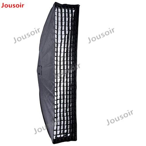 2 pcs Godox 35x160 cm 14 x 63 Bande Ruche Honeycomb Grille Softbox avec Bowens Mont CD50