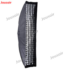 2 шт. Godox 35×160 см 14 «х 63» полосы улей Honeycomb сетки Softbox с Bowens горе CD50
