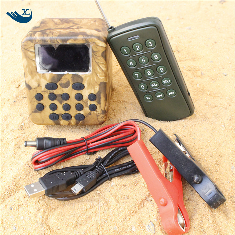 New Outdoor Hunting Decoy Bird Caller Mp3 Player Bird Sound Louspeaker Amplifier Quail Sounds Quail Hunting With Timer
