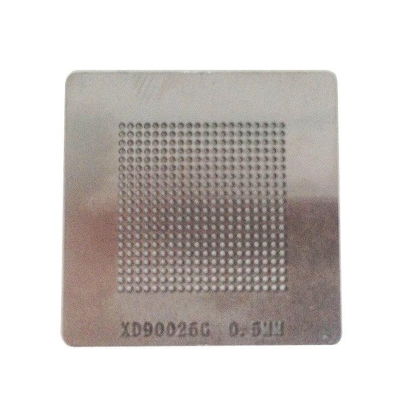 Stencils aquecimento direto bga solda esfera de aço modelo para PS4 máquina IC reball estação de retrabalho BGA