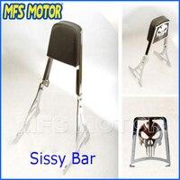 Motorcycle parts luggage rack Skull Sissy Bar pad For Harley Davidson Sportster XL883C XLH883 XLH1200