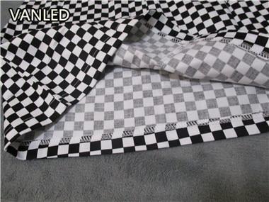 HTB1jNldQFXXXXcFXVXXq6xXFXXXy - vintage Black White Plaid Circle Zipper Women Slim Skirt PTC 195