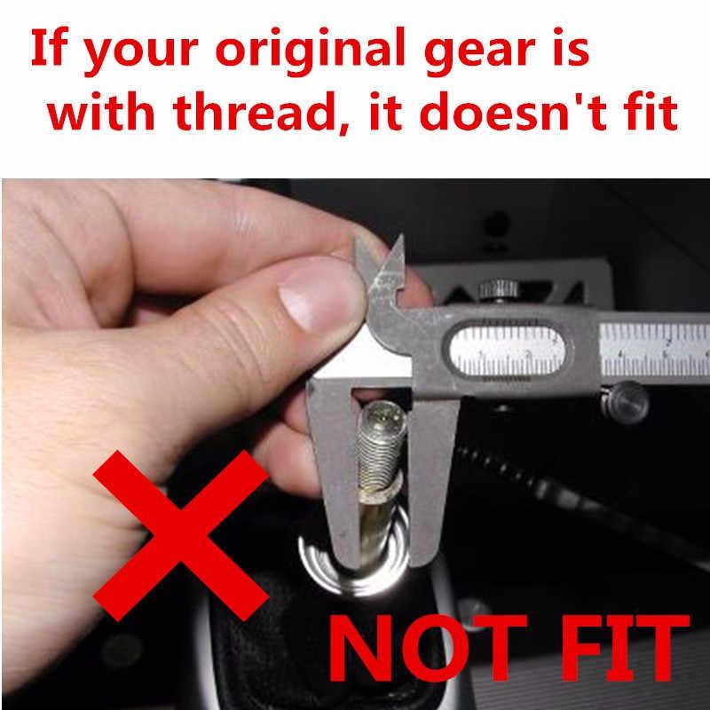 5 MT velocidade Engrenagem Alavanca de mudança Knob Vara Caneta para Suzuki Swift 2005-2010/SX4 2007-2013 /2010-2015 ALTO Estilo Do Carro Acessórios