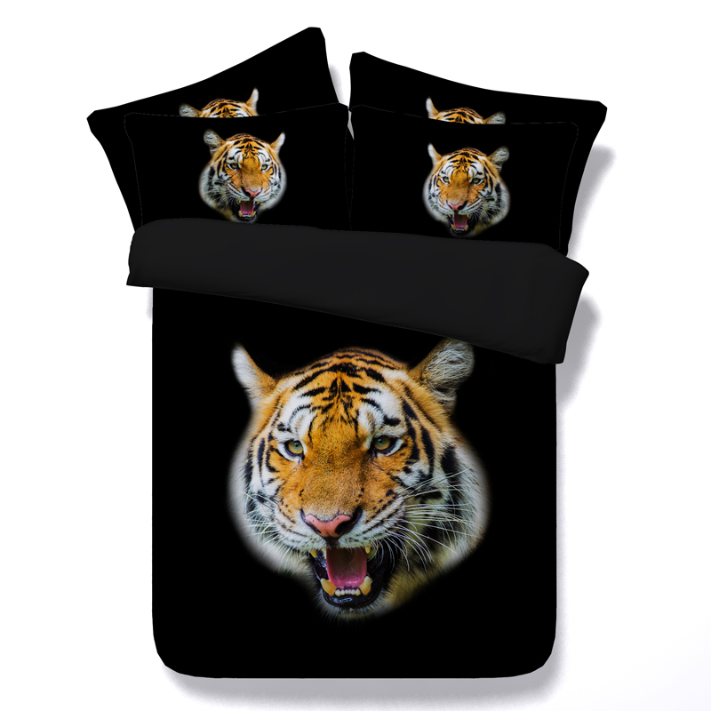 3d printed tiger bedding set single twin double full queen king cal king comforter black duvet cover animal home textile 3/4pcs3d printed tiger bedding set single twin double full queen king cal king comforter black duvet cover animal home textile 3/4pcs