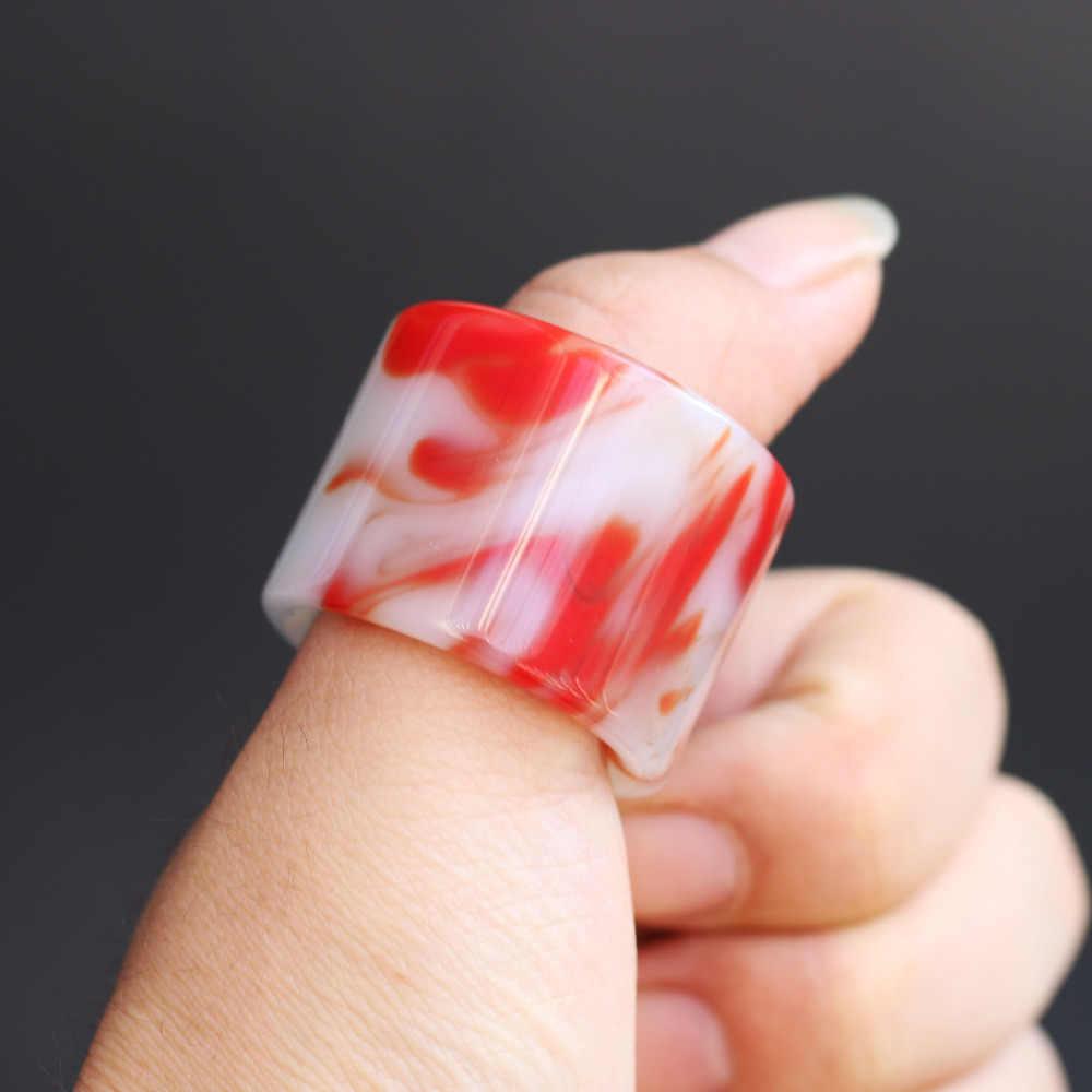 Xinjiang สีแดงและสีขาวหยกนิ้วมือแหวนดิบ Mine และ Tian หยกและหยกสีแดง Finger แหวนผู้ชายและผู้หญิง