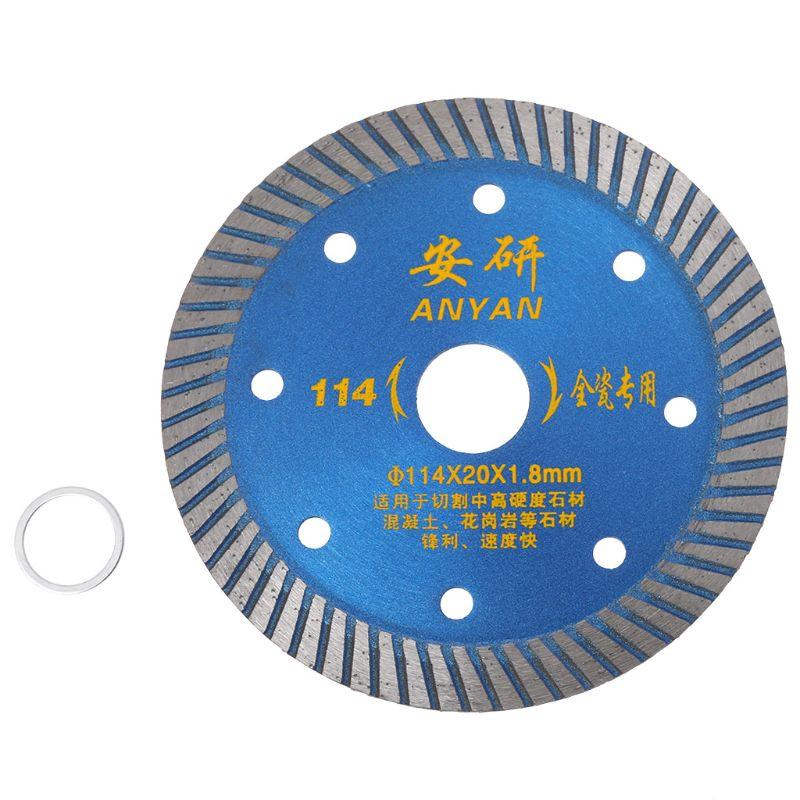 4.5 Inch Diamond Ceramic Saw Blade Disc Wheel Sharp Cutter Porcelain Tile Marble