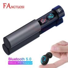FANGTUOSI New Q67 TWS Bluetooth 5.0 Wireless Earphone 3D Stereo Headset Handsfre