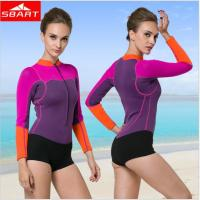 New Arrival 2016 Women Neoprene Wetsuit 2MM One Piece Long Sleeve Neopreno Swimsuit Womens Surf Swim Dive Wet Suit N941