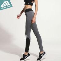 2017 חדש Aimpact נשים נשים מכנסי טרנינג כושר Yogo מכנסיים ריצת צפצף הילדה Slim Fit סקסי כושר מכנסיים מכתב ספורט הדוק חותלות