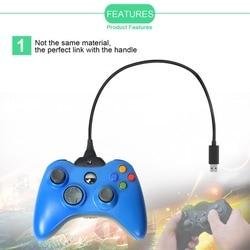 Onleny 1.5 M Cabo de carregamento USB Linha de Cabo de Alimentação para Xbox 360 360 Gamepad Controlador sem fio Bateria Recarregável