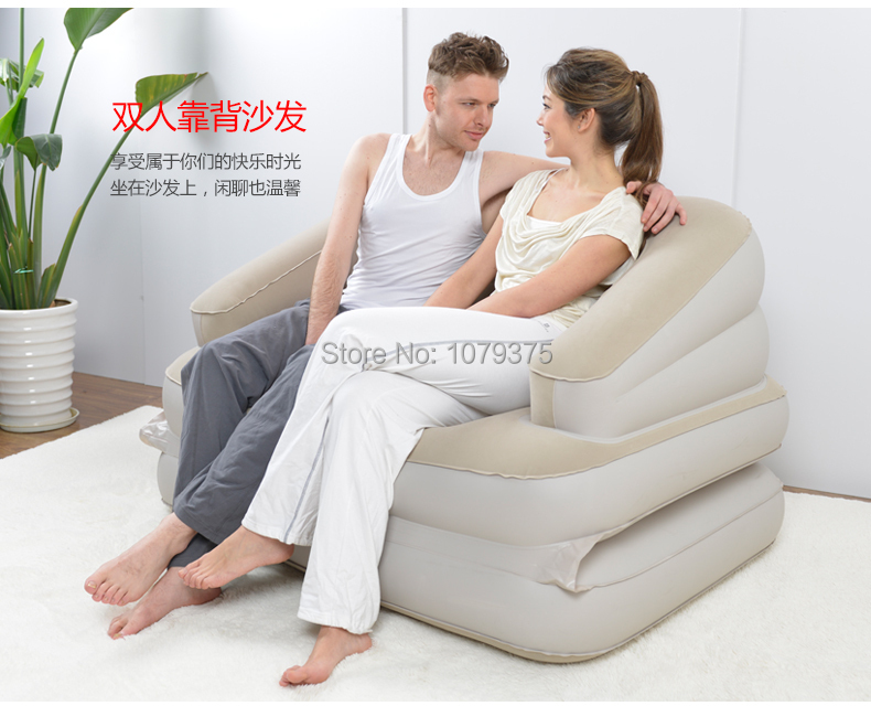 buy free shipping inflatable sofa bed bean bag sofa backless sofaliving room furniture folding furniture bedroom furniture from reliable